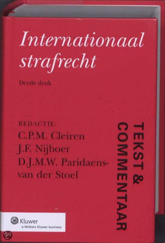 Internationaal strafrecht / druk 3